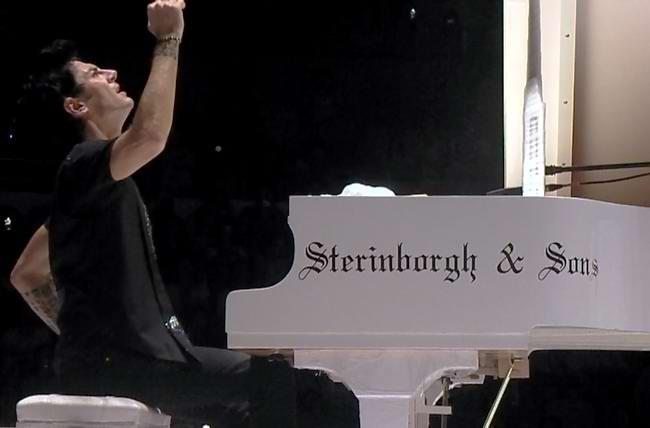 inborgh钢琴 钢琴大师马克西姆 钢琴独奏音乐会唯一演奏钢琴